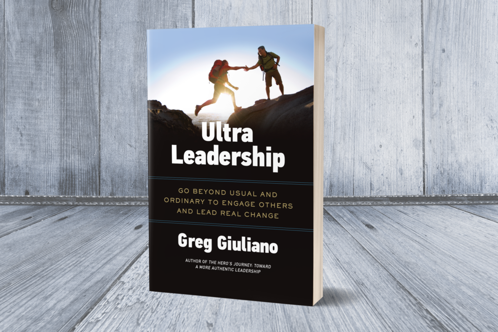 Greg Giuliano's book, Ultra Leadership