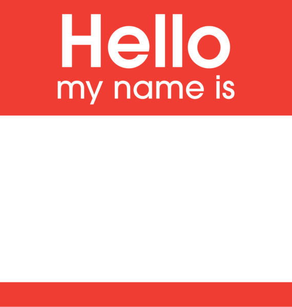 Hello, I'm… (Unconscious about my brand)