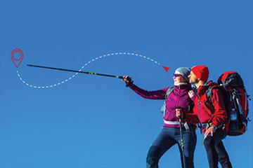 Ultra Leadership - Teamwork GPS Hikers